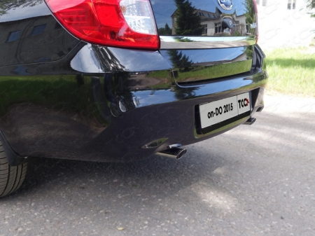 Декоративный глушитель 75/42,4 мм Datsun on-DO 2015